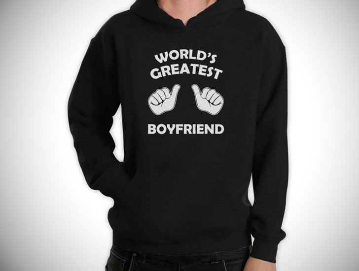 World's Greatest Boyfriend Hoodie