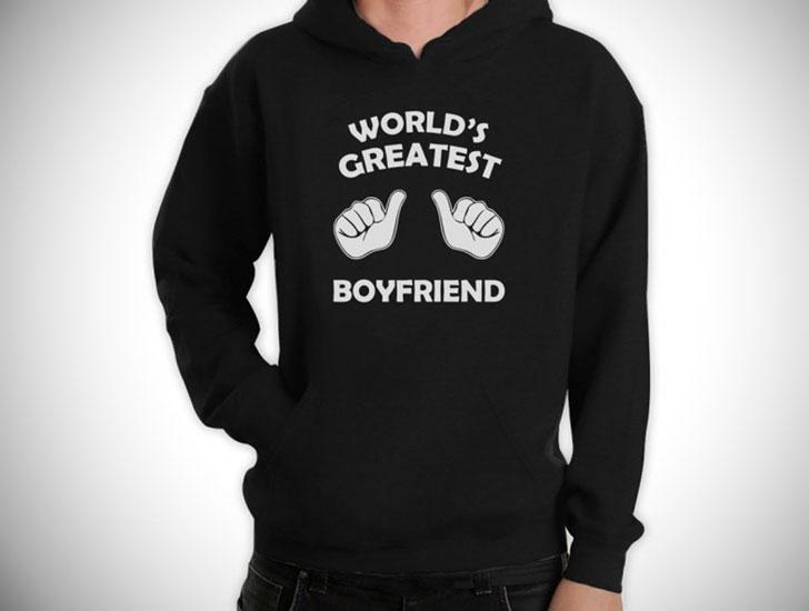 World's Greatest Boyfriend Hoodie