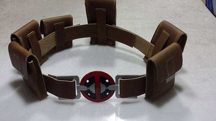 X-Force Deadpool Costume Cosplay Suit