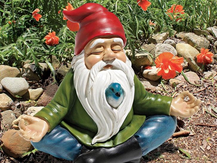 Zen Meditating Gnome
