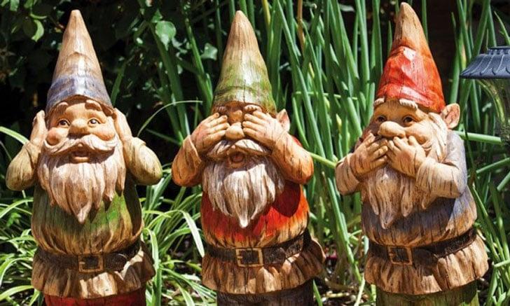31 Funny Garden Gnomes For A Unique Garden Scene