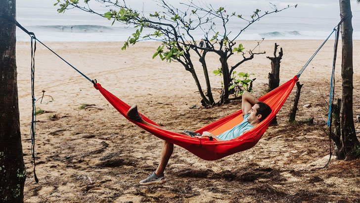 3-in-1 Utility Travel Hammock