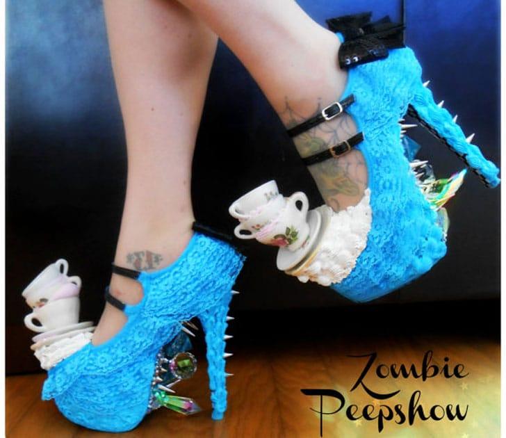 Alice in Wonderland Wonderland Teacup Shoes