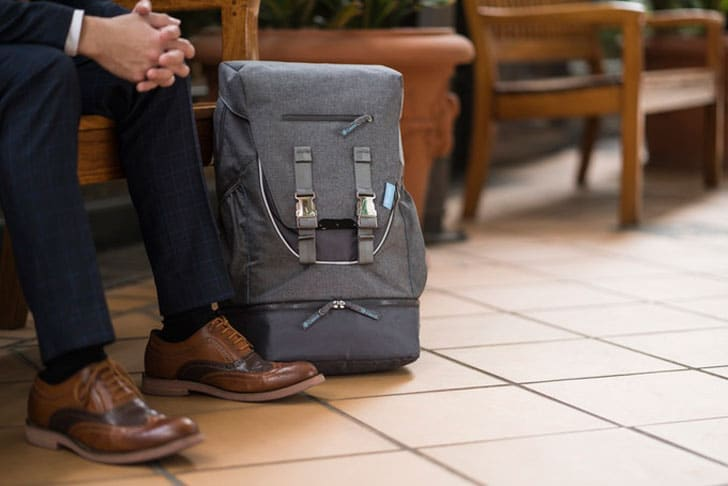 Anti-Theft Travel Backpack & Messenger Bag