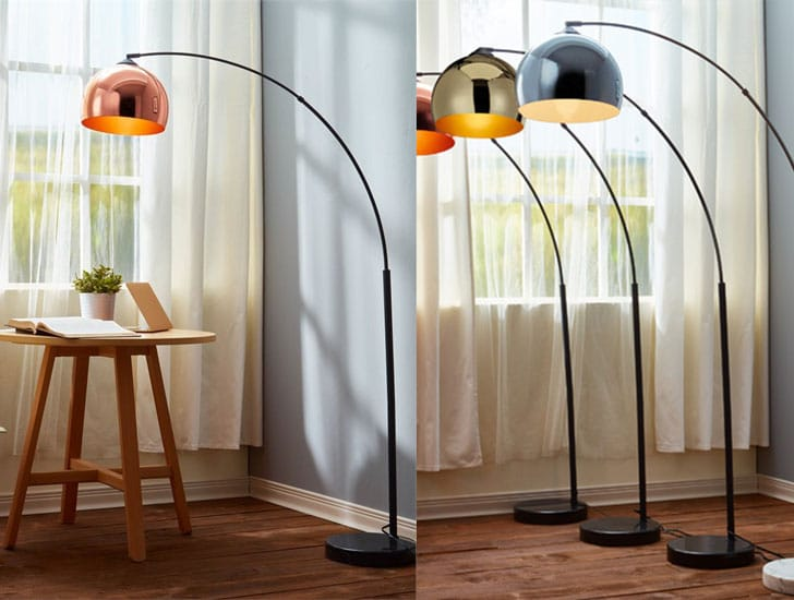 27 Best Arc Floor Lamps for a Modern Living Room - Awesome ...