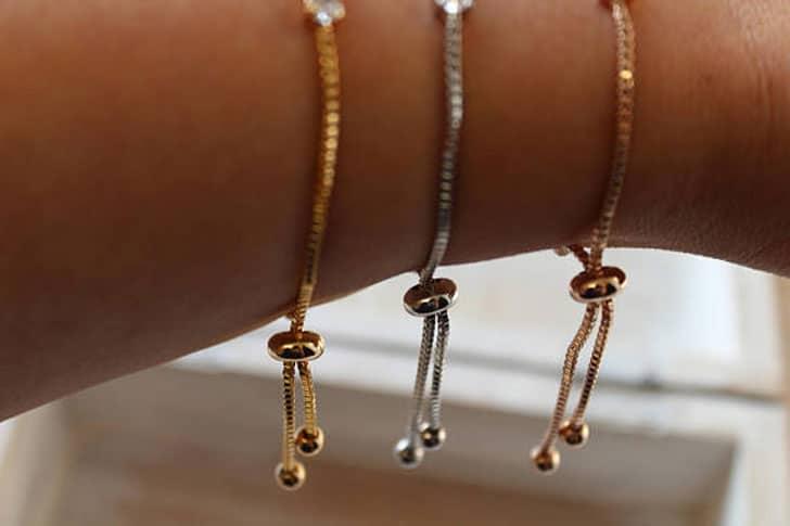 Art Deco Style Bridesmaid Bracelets