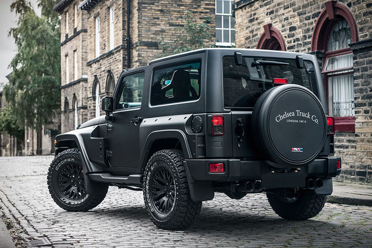 Black Hawk Jeep Wrangler