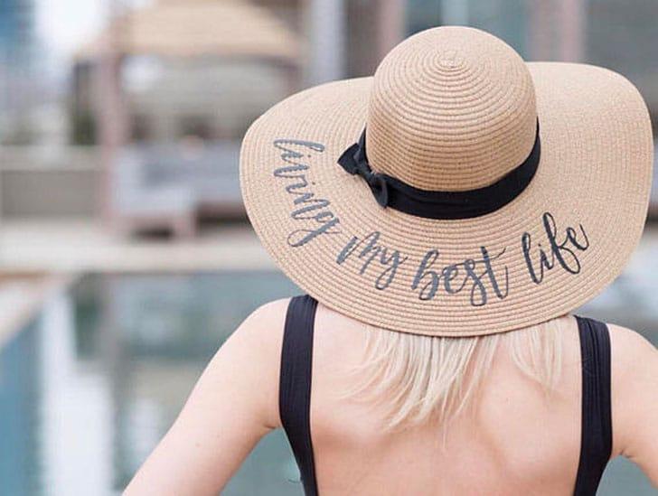 Custom Floppy Beach Hats