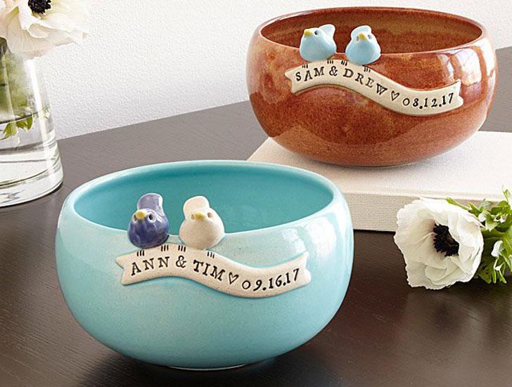 Custom Wedding Bowls