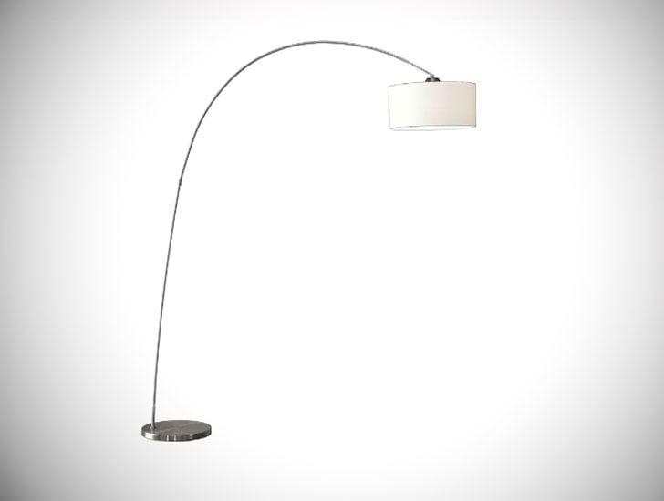 """Delcambre 81"""" Arched Floor Lamp"""