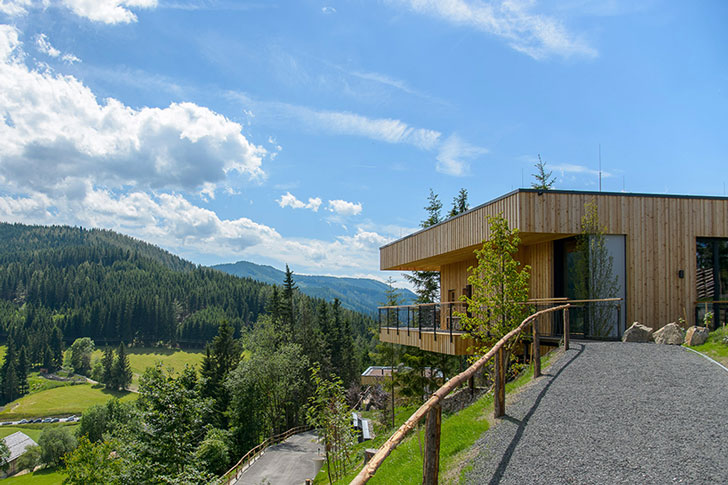 Deluxe Mountain Chalets