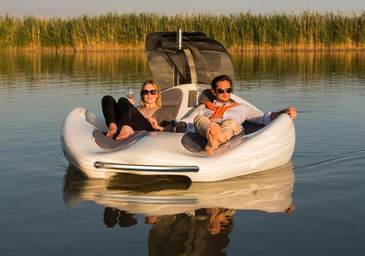 Electric Lounge Chair Boat