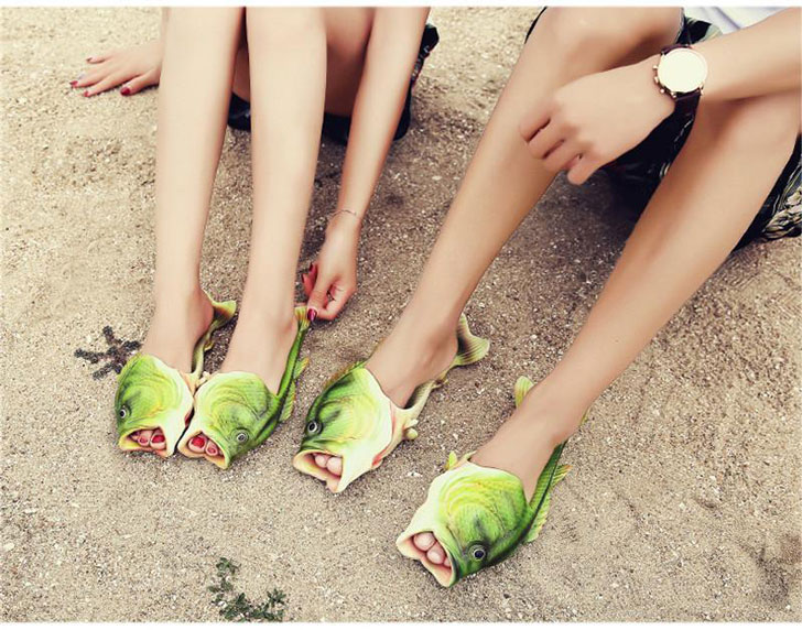 Fish Flip Flop Sandal Shoes