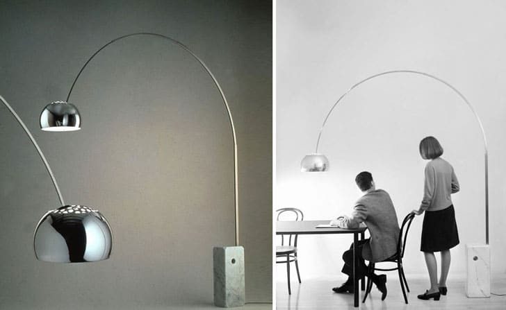 Flos Arco Arched Floor Lamp