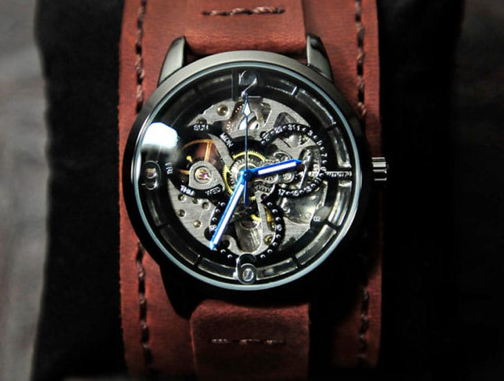 Ground Effect Steampunk Watch