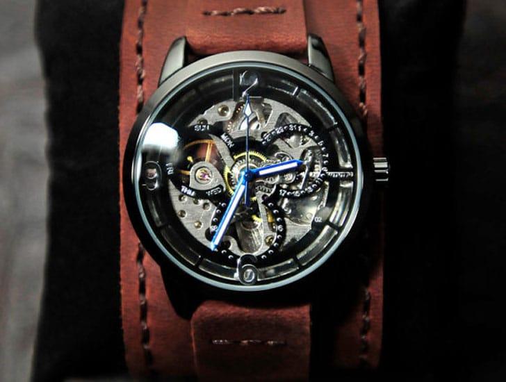 Ground Effect Steampunk Watch