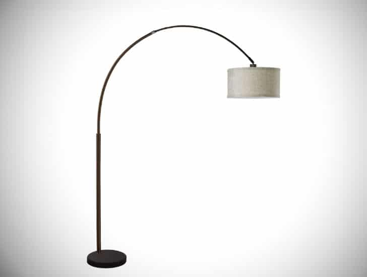 "Hagans 81"" Arched Floor Lamp"