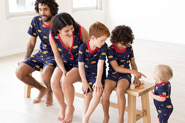 Hot Doggy Matching Family PJs