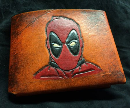 Leather Deadpool Wallet