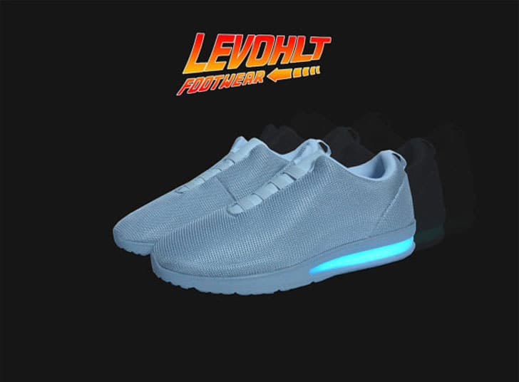 Levohlt Lowtop LED Back From The Future Sneakers