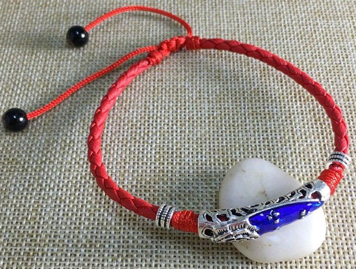 Lucky Red Rope Adjustable Anklet