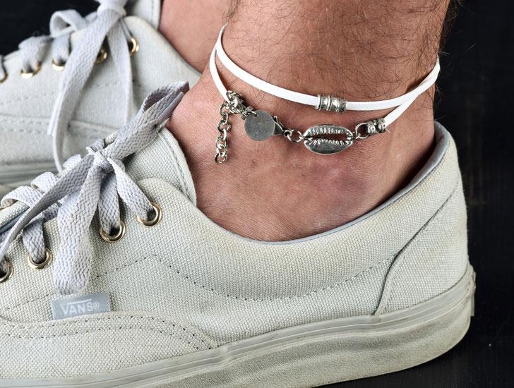 23 Best Ankle Bracelets for Men You Can Buy! (men's anklets)