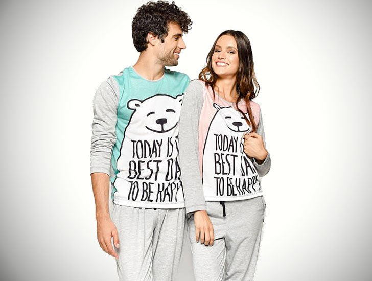Mommy and Daddy Bear Matching Pajamas for Couples