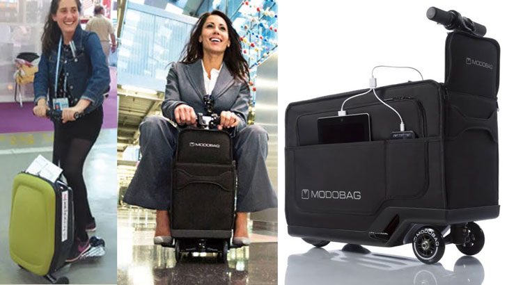 Motorized Smart Luggage