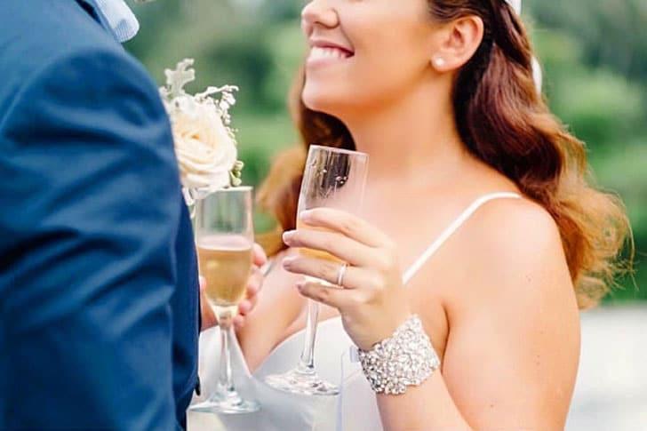 Nichola Bridal Cuff Bracelet - wedding bracelets