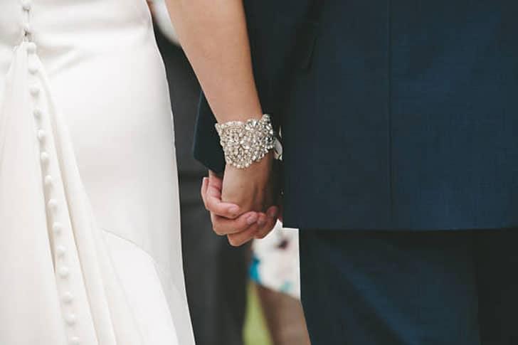 Nichola Bridal Cuff Bracelet