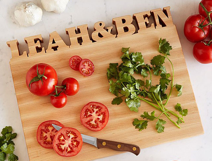 Personalized Cutting Boards Wedding Gift