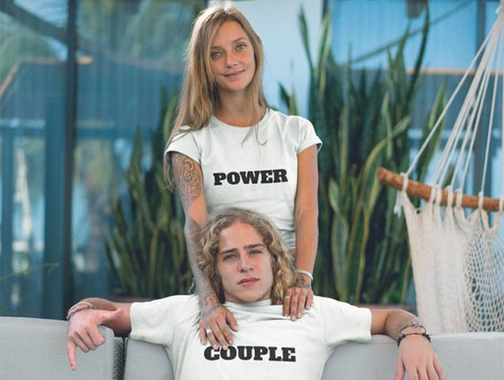 Power Couple His and Hers T-Shirts