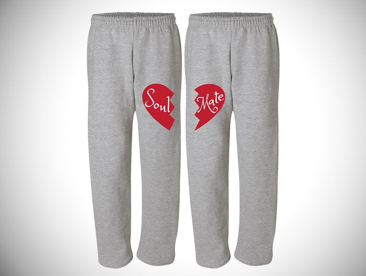 Soul Mate Pajama Sweat Pants for Couples
