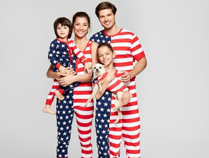 Stars and Stripes Family Pajamas Collection