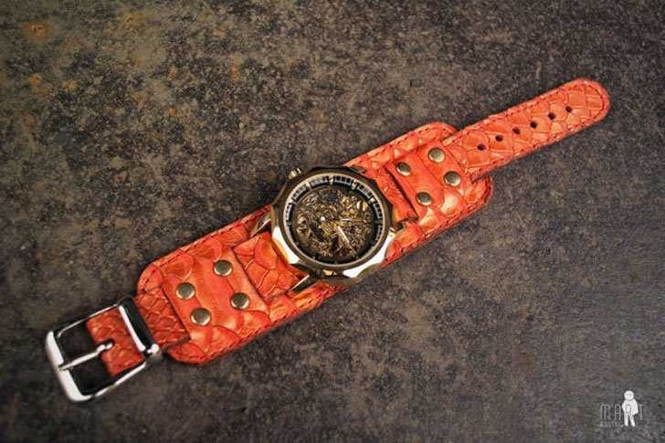 Steampunk Dragon Wrist Watch