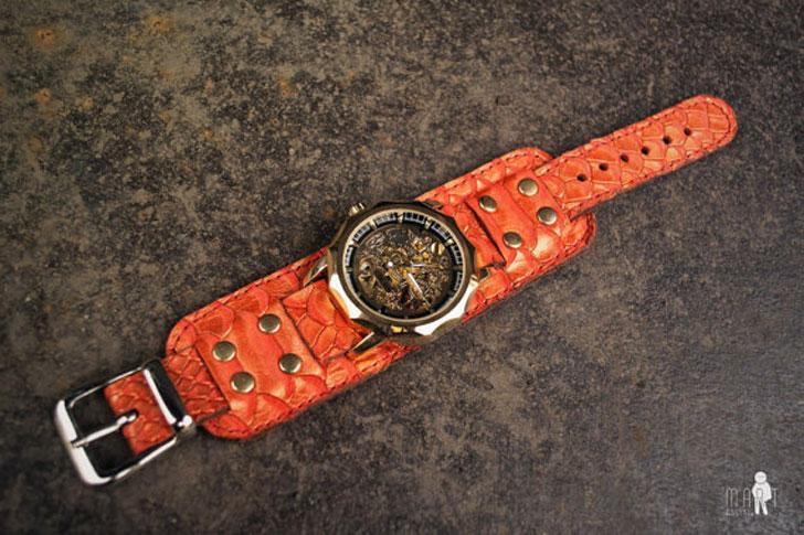 Steampunk Dragon Wrist Watch