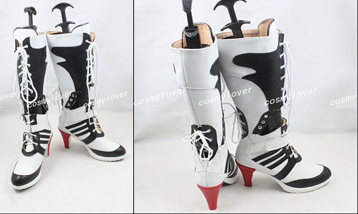 Suicide Squad Harley Quinn Cosplay Boots