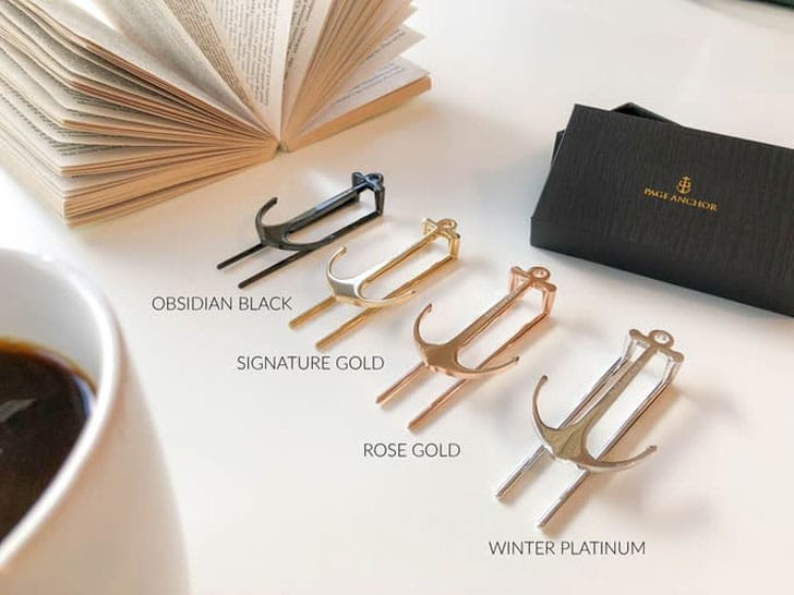 Swedish Anchor Bookmarks