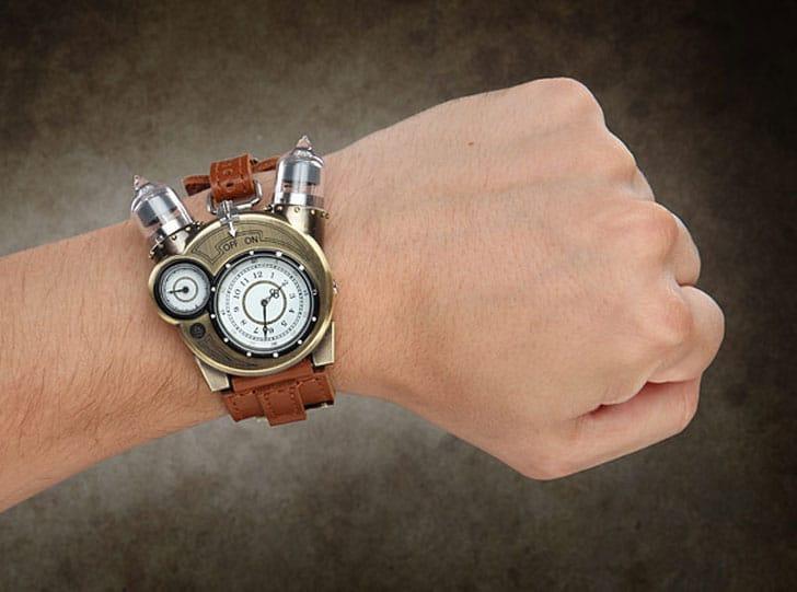 Tesla Steampunk Watch