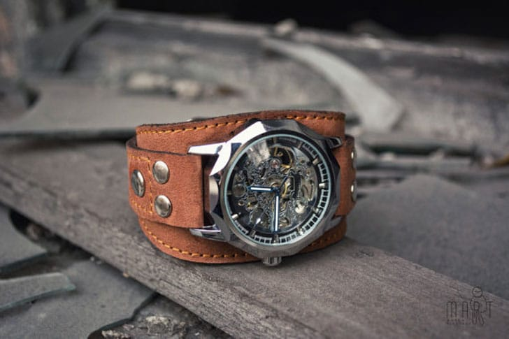 The Aviator Men's Steampunk Watch  - steampunk watches