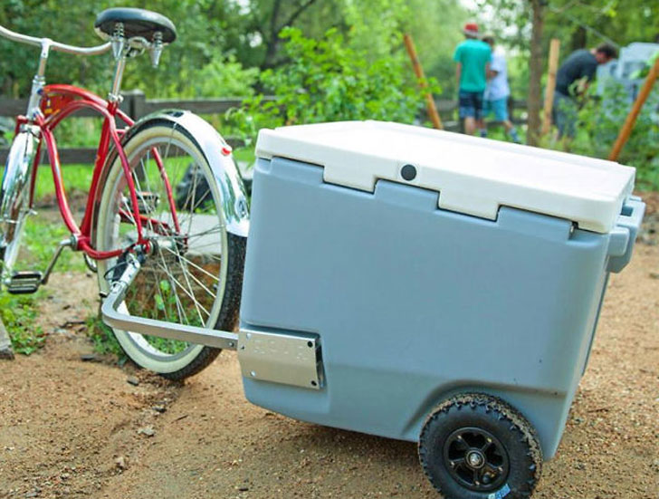 Towable All-Terrain Cooler