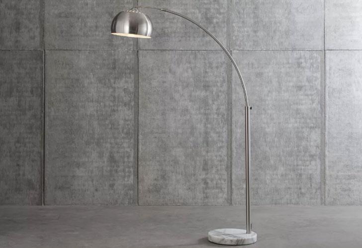 Wade Logan Lubbock Arched Floor Lamp
