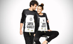 30 Cute Matching Pajamas For Couples & Families