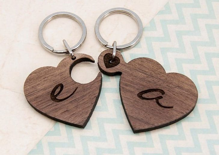 31 Matching Couples Keychains for Him and Her ( Couples