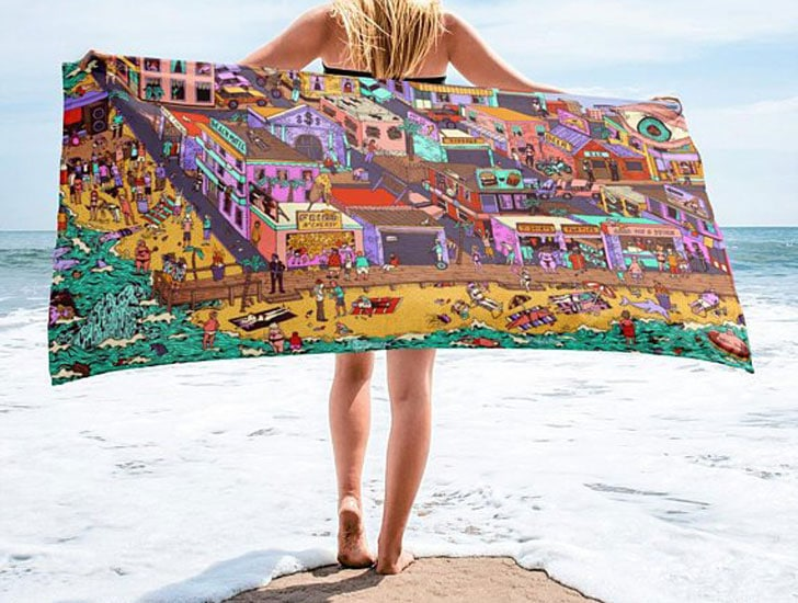 Custom-Printed Beach Towels
