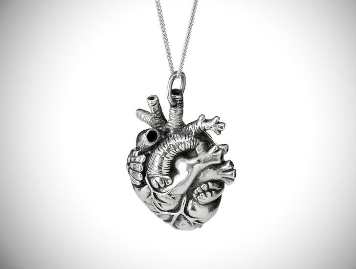 Anatomical Heart Pendant - gifts for doctors