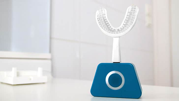 Auto-Cleaning Sonic Vibration Toothbrush