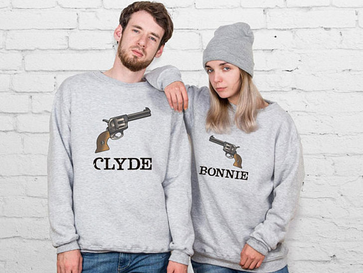 Bonnie and Clyde Couple Sweaters