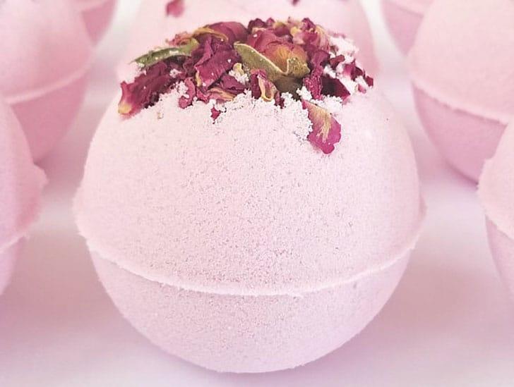 Cherry Blossom Bath Bomb - Stress Relief Gift Ideas