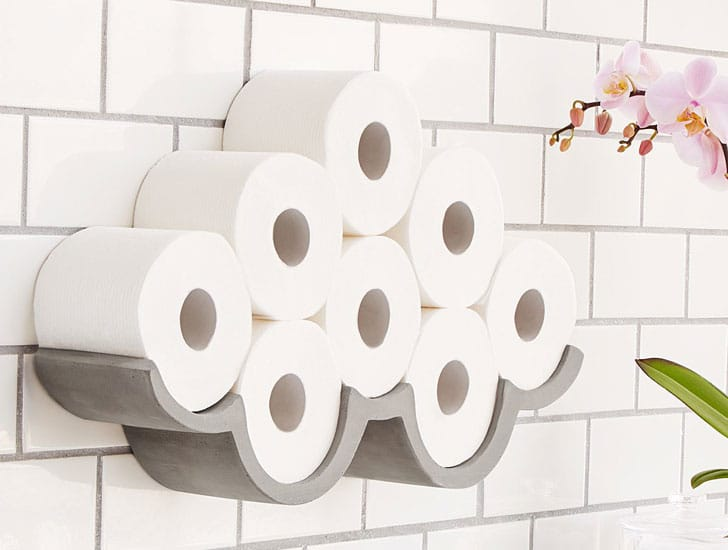 Cloud Wall Mount Toilet Paper Holder